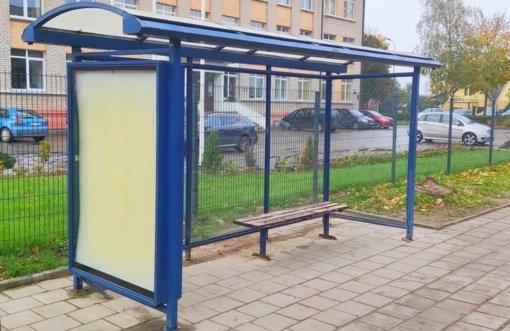 Paviljonai autobusų sustojimuose ir laisvos patalpos laukia naujų šeimininkų