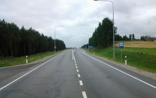 Šiaulių rajone pavojingą trišalę sankryžą pakeis žiedinė