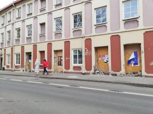 Rūmų durys Rūdninkų gatvėje – beveik kaip Oginskių laikais
