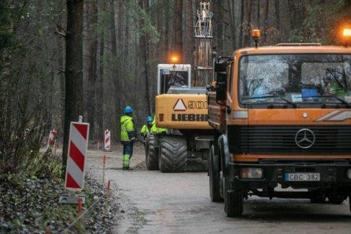Sostinėje asfaltuojama svarbi jungtis – Mykolo Lietuvio gatvė