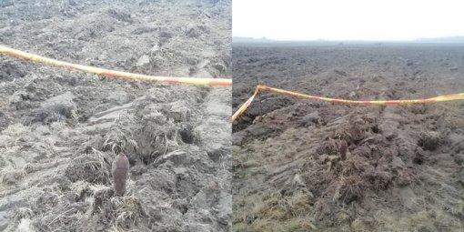 Pagėgių savivaldybėje pasieniečiai aptiko pavojingą karo laikų miną