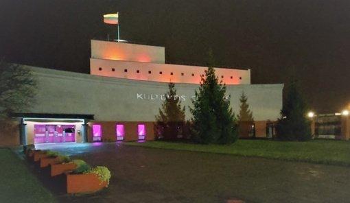 Biržuose purpurine spalva nušvito kultūros centras