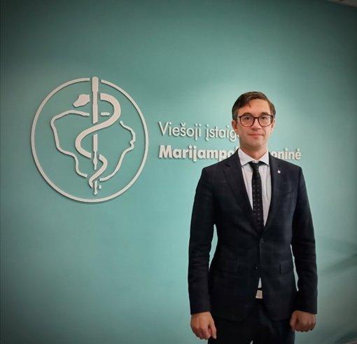 Marijampolės ligoninė turi naują vadovą