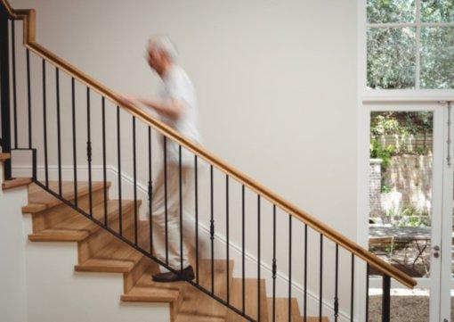 Didžiausi traumų namuose kaltininkai – laiptai ir kopėčios
