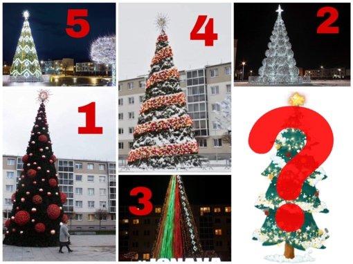 Kalėdų belaukiant: kuriais metais Jonavos Kalėdų eglė buvo gražiausia?