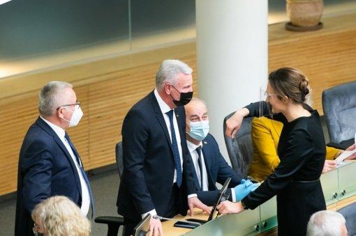Patvirtinta 14 Seimo komitetų pirmininkų, tarp kurių – ir jurbarkiečių išrinkto parlamentaro pavardė