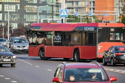 Vilniuje keičiami dalies autobusų tvarkaraščiai