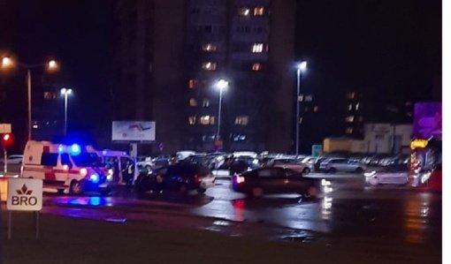 Nemuno – Parko gatvių sankryžoje susidūrė automobiliai