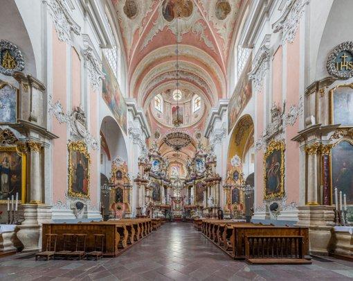 Rekonstruojami XVIII amžiaus Vilniaus Šventosios Dvasios bažnyčios vargonai