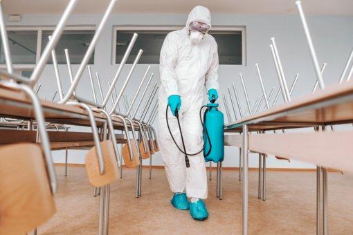 """Vilkaviškio """"Ąžuolo"""" progimnazijoje – infekcijų plitimą ribojantis režimas"""