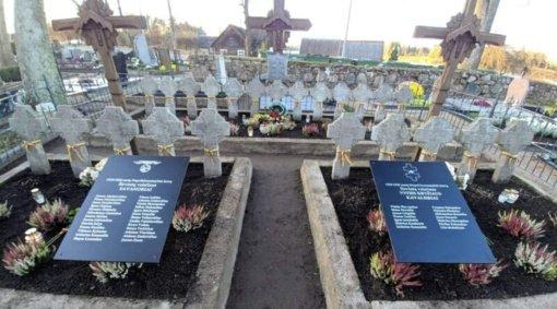 Laikinomis lentomis įamžintas Širvintų valsčiaus savanorių ir Vyties Kryžiaus kavalierių atminimas