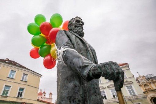 Vilnius švenčia Jono Basanavičiaus gimtadienį