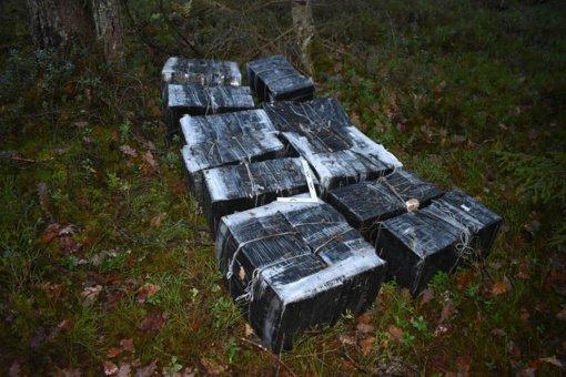 """Kontrabandininkai neteko dviejų krovinių ir automobilio """"Audi A6"""""""
