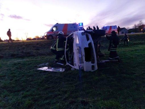 Šiaulių policija: Dėl slidžios kelio dangos šįryt užfiksuoti 9 eismo įvykiai