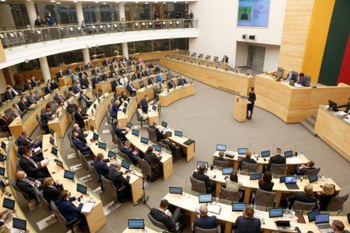 Seime uždegta žalia šviesa dėl nuotolinio Seimo darbo įteisinimo