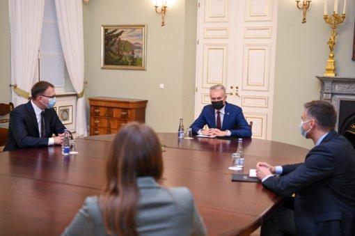 Prezidentas susitiko su kandidatu į susisiekimo ministrus: pasigedo konkretumo