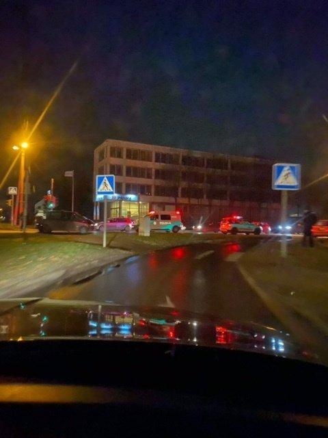 Marijampolės Stoties gatvėje – vėl eismo nelaimė