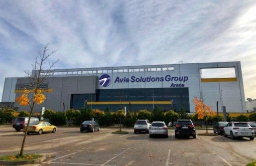 """""""Siemens"""" arena keičia pavadinimą į """"Avia Solutions Group"""" areną"""