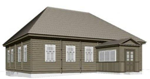Sukurtas virtualus Trakuose stovėjusios sinagogos modelis