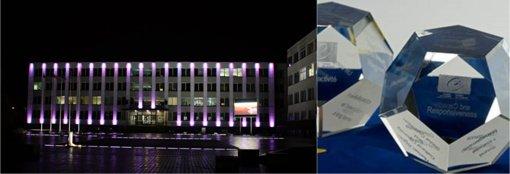 Akmenės rajono savivaldybė pelnė Europos Tarybos ženklą