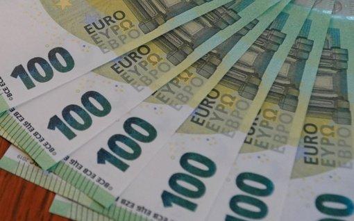 Balandį vidutinė metinė infliacija sudarė 0,8 proc.