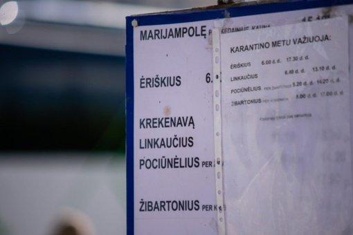 Antroji pandemijos banga pakeitė Panevėžio autobusų važiavimo grafikus