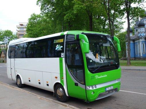 Druskininkuose keičiasi viešojo transporto tvarkaraščiai