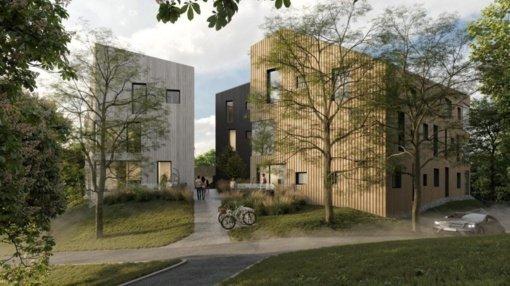 Architektai pristato pakoreguotą daugiabučio Užupyje projektą