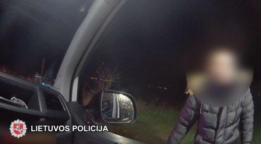 Šalčininkų pareigūnai surado laukuose pasiklydusį vyrą