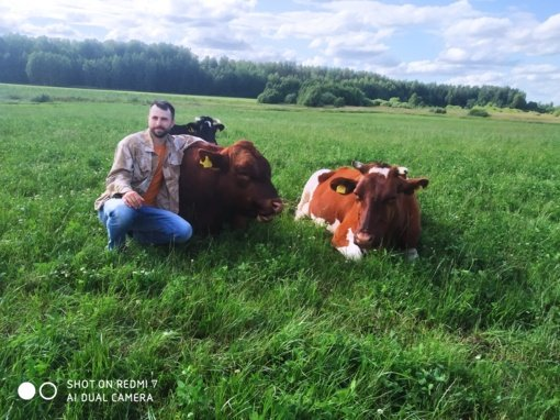 Tautvilas Putvis ūkininkauja proprosenelio žemėje