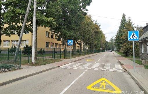 Aptarti gyventojų prašymai dėl eismo saugumo gerinimo