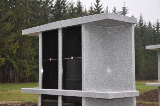 Linksmučių kapinėse įrenginėjamas kolumbariumas