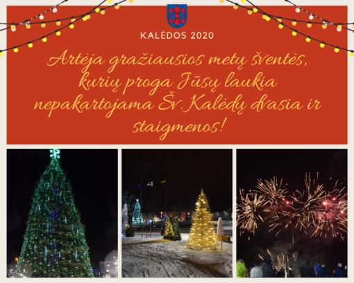 Žiemos šventės Vilkaviškyje: laukia nepakartojama šv. Kalėdų dvasia ir staigmenos