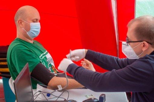 Panevėžyje kraujo donorų skaičius sumažėjo net 2 tūkst.: žmonės kviečiama aukoti