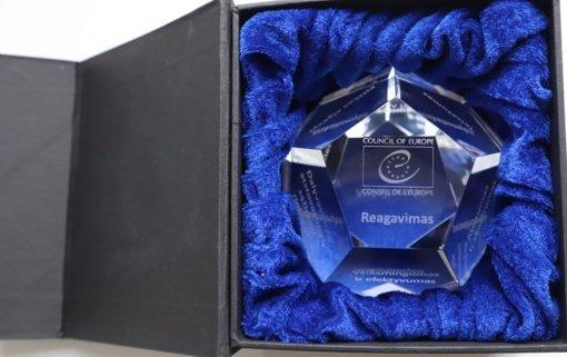 Šiauliams – Europos Tarybos apdovanojimas už nepriekaištingą valdymą