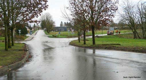 Bubiuose baigta asfaltuoti Šilojų gatvė