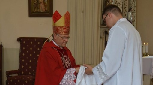 Vyskupas Jonas Ivanauskas: pandemija ryškiau parodo tai, kas yra tikra gyvenime