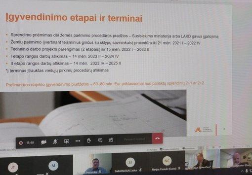 Vyko pasitarimas dėl kelio Kaunas–Prienai–Alytus rekonstrukcijos