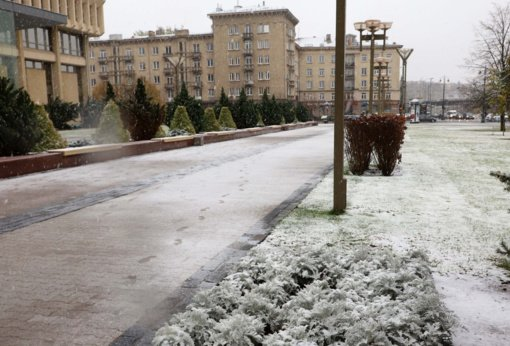 Orai primins žiemą, keliuose teks pasisaugoti