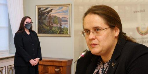 A. Širinskienė apie kandidatę į teisingumo ministres: žada daryti tai, kas jau padaryta