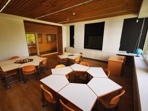 Mickūnų gimnazijoje modernizuotos edukacinės erdvės