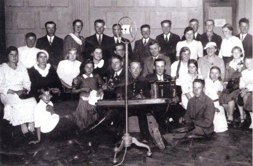 Virtuali senųjų fotografijų paroda: Vilniaus krašto muzikantai