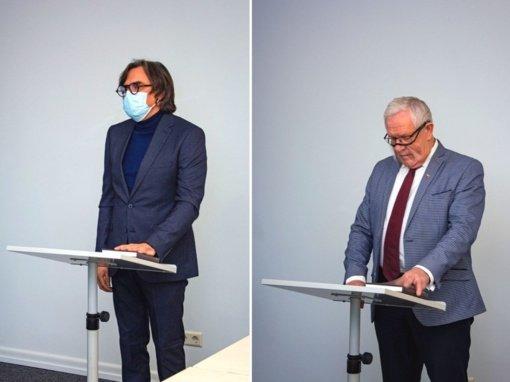 Prisiekė nauji Marijampolės savivaldybės tarybos nariai: Metas Ražinskas ir Gintautas Vieversys