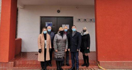 Nemakščių Martyno Mažvydo gimnazijos direktorei padėkota už ilgametį darbą