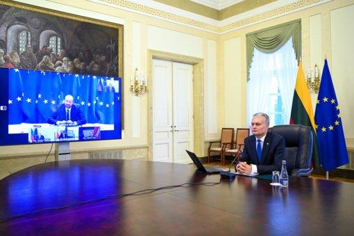 Prezidentas: būtinas aiškus ES planas siekiant klimatui neutralios ekonomikos