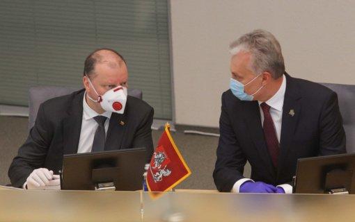 S. Skvernelis susitiks su G. Nausėda: aptars laikinosios Vyriausybės veiklą