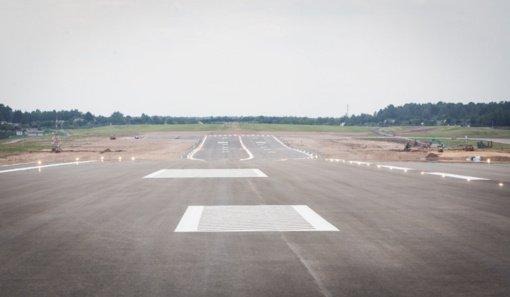 Palangos oro uosto pakilimo tako atnaujinimui lėšų nenumatyta