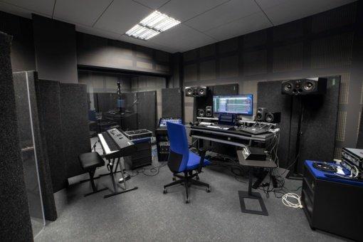 Šiaulių kultūros centre – moderni garso įrašymo studija