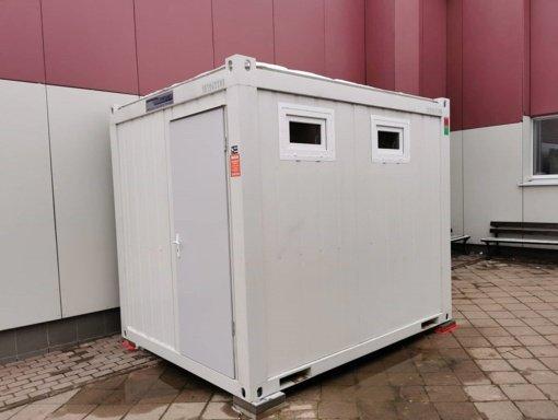 Prie Ignalinos autobusų stoties – naujas tualetas