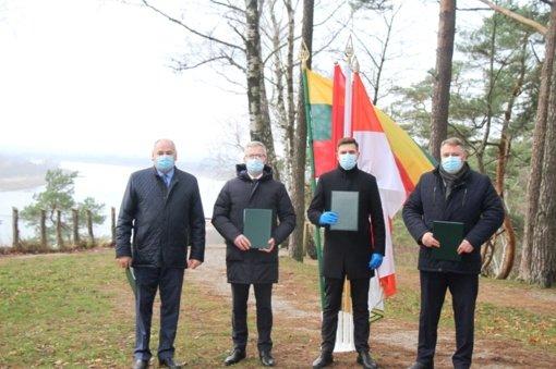 Pasirašyta Tauragės regiono plėtros tarybos steigimo sutartis